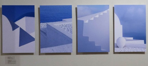 Davina Clift's studies in blue: 'Fade to Grey'